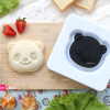 อุปกรณ์ทำเบนโตะ ข้าวกล่อง อุปกรณ์ทำแซนวิช หน้าหมีแพนด้า น่ารัก ๆ Pocket sandwich Panda