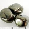 ไพไรต์ขัดมันขนาดพกพา 3 ชิ้น Pyrite (43g)