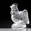หินควอตซ์แกะเป็นรูปไก่ ปีนักษัตร ปีระกา (22g)
