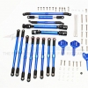 ALUMINIUM CHASSIS LIFT UP COMBO (TIE RODS & CENTER SHAFT & DAMPER MOUNT) - 1SET