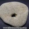 ▽โฮเลย์สโตน Holey Stone 1 รูทะลุผ่าน (14g)