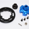 ALUMINIUM GEAR ADAPTER+STEEL SPUR GEAR 54T+MOTOR GEAR 16T - 1SET