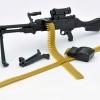 Little Armory LA006 1/12 M240G Type Plastic Model