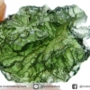 สะเก็ดดาวสีเขียว โมลดาไวท์ (Moldavite) 6.79ct.