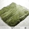 สะเก็ดดาวสีเขียว โมลดาไวท์ (Moldavite) 6.35ct.