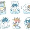 Rubber Mascot - Gintama Hata Ouji to Koori no Doubutsu ja! Hen 6Pack BOX(Pre-order)