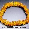 สร้อยข้อมือ อำพันบอลติก (Lemon) Genuine Baltic Amber (8g)