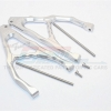 ALUMINIUM REAR UPPER SUSPENSION ARM - 1PR SET (FOR E-REVO 560871, REVO, SUMMIT)