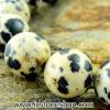 ▽สร้อยข้อมือ ดัลเมเชี่ยน แจสเปอร์ dalmatian jasper 10mm.