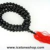 ▽ประคำ 108 เม็ด ออบซิเดียน (Obsidian) 10mm.