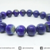 สร้อยหิน ลาพิส ลาซูลี่ (Lapis Lazuli) 10mm.