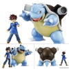 G.E.M. Series - Pokemon: Gary & Blastoise Complete Figure(Pre-order)