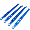 ALLOY REAR CHASSIS LINKS PARTS TREE - SCX049R