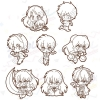 Rumic Collection Rubber Strap Collection 2nd SEASON 8Pack BOX(Pre-order)
