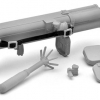 Little Armory LA017 1/12 M202A1 FLASH Type Plastic Model(Pre-order)