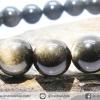 สร้อยข้อมือโกลเด้น ออบซิเดียน (Golden Obsidian) 10mm.