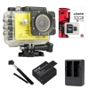SJCAM SJ5000X Elite WiFi 4K (Battery +Dual-Charger+Monopod+ Kingston32)