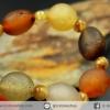 สร้อยข้อมือ อาเกตทะเลทรายโกบี (Gobi Agate) 14g