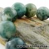 ▽สร้อยหิน มอส อาเกต (Moss Agate) 16mm.