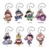 Pita! Deforme - Osomatsu-san Casual Wear Ver. Acrylic Keychain 8Pack BOX(Pre-order)