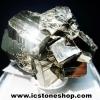 ผลึกกลุ่มไพไรต์ Pyrite เปรูแหล่งสวยสุดในโลก (63g)