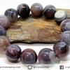 สร้อยหิน บอตสวานาอาเกต ( Botswana Agate ) 16mm.