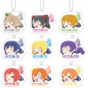 Love Live! - Nesoberi Acrylic Keychain Mascot 10Pack BOX(Pre-order)