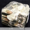 เพชรหน้าทั่ง หรือไพไรต์ pyrite ทรงลูกบาศก์คู่ (280g)
