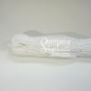 เชือกร่มมีไส้ #4.0 สีขาว