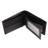 GT-8087 กระเป๋าสตางค์ผู้ชาย ใบสั้น หนังแท้ สีดำ
