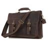 GT-7205 กระเป๋าเอกสารหนังแท้ กระเป๋าสะพายข้าง