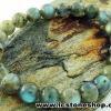 ▽สร้อยข้อมือ ลาบราดอไลท์ (Labradorite) 8.5mm.