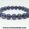 ▽สร้อยหินไพลิน (Blue Sapphire) เกรด A+ ขนาด 10mm.