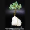 ▽ต้นไม้มงคล หินกรีนอะเวนจูรีน-ฐานควอตซ์ ใช้เสริมฮวงจุ้ย โต๊ะทำงาน (171g)