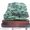 ▽แผ่นเอนิโอไลต์ Anyolite หรือซอยไซท์ Zoisite กับทับทิม Ruby (455g)