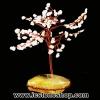 ต้นไม้มงคล โรสควอตซ์-แก้วโป่งข่าม ใช้เสริมฮวงจุ้ย โต๊ะทำงาน (185g)
