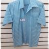 เสื้อเชิ้ต สีฟ้า มือสอง แบรนด์ X=ACT อก 43 นิ้ว