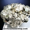 ผลึกกลุ่มไพไรต์ Pyrite เปรูแหล่งสวยสุดในโลก (92g)