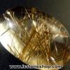 พลอยไหมทอง Golden Rutilated Quartz (7.79ct.)