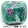 ทับทิม-ฟัชไซต์ Ruby-Fuchsite ขัดมัน ขนาดพกพา (18g)