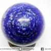 ▽พิส ลาซูลี (Lapis lazuli) ทรงบอล หินทรงกลม 4.3 cm