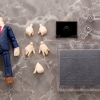 Cu-poche Extra - Suit Body (Navy) Posable Figure(Pre-order)