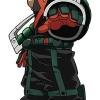 My Hero Academia - Life-size Wall Scroll: Katsuki Bakugo(Pre-order)