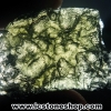 สะเก็ดดาวสีเขียว โมลดาไวท์ (Moldavite) 19.54ct.
