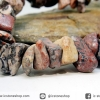สร้อยข้อมือ หินเสือดาว (leopard skin jasper)