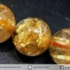 สร้อยข้อมือ ไหมทอง (Rutilated Quartz ) 8 mm.