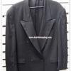 0036 -เสื้อสูทชาย สีดำ pierre cardin อก 43 นิ้ว