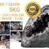 ▽โพรงอเมทิสต์ ซุปเปอร์เซเว่น (Geode Amethyst Super seven 7) 5 KG