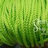 เชือกถัก P.P. #8 สีเขียวสะท้อน (10เมตร)