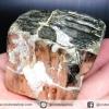 เพชรหน้าทั่ง หรือไพไรต์ pyrite ทรงลูกบาศก์ (277g)